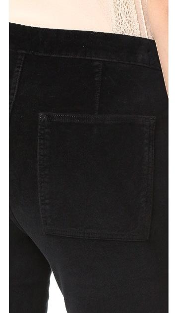 3x1 W3 Patch Bell Crop Pants