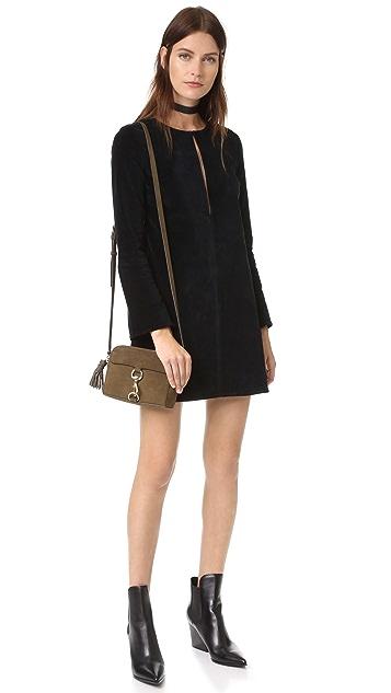 3x1 WD Long Sleeve Keyhole Dress
