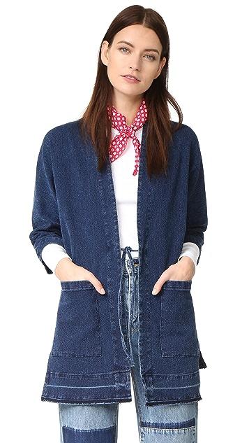 3x1 WJ Cocoon Wrap Jacket