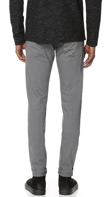 3x1 M5 Selvedge Low Rise Slim Jeans
