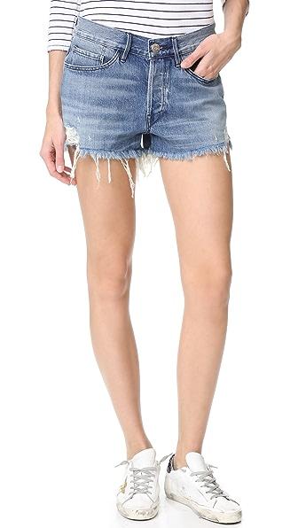 3x1 W2 Boyfriend Shorts - Palm