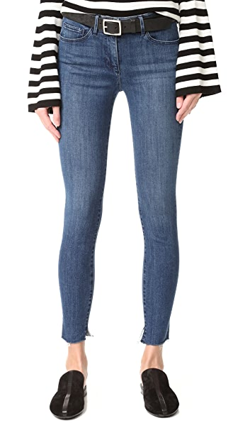 3x1 Midway Skinny Crop Jeans - Dundee