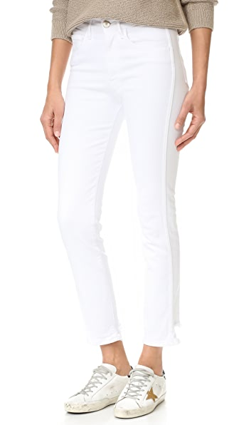 3x1 Straight Authentic Crop Jeans - Beacon