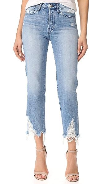 3x1 Higher Ground Boyfriend Crop Jeans - Dover