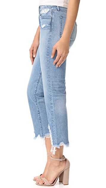 3x1 Higher Ground Boyfriend Crop Jeans
