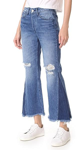3x1 Higher Ground Gusset Crop Jeans - Vasto