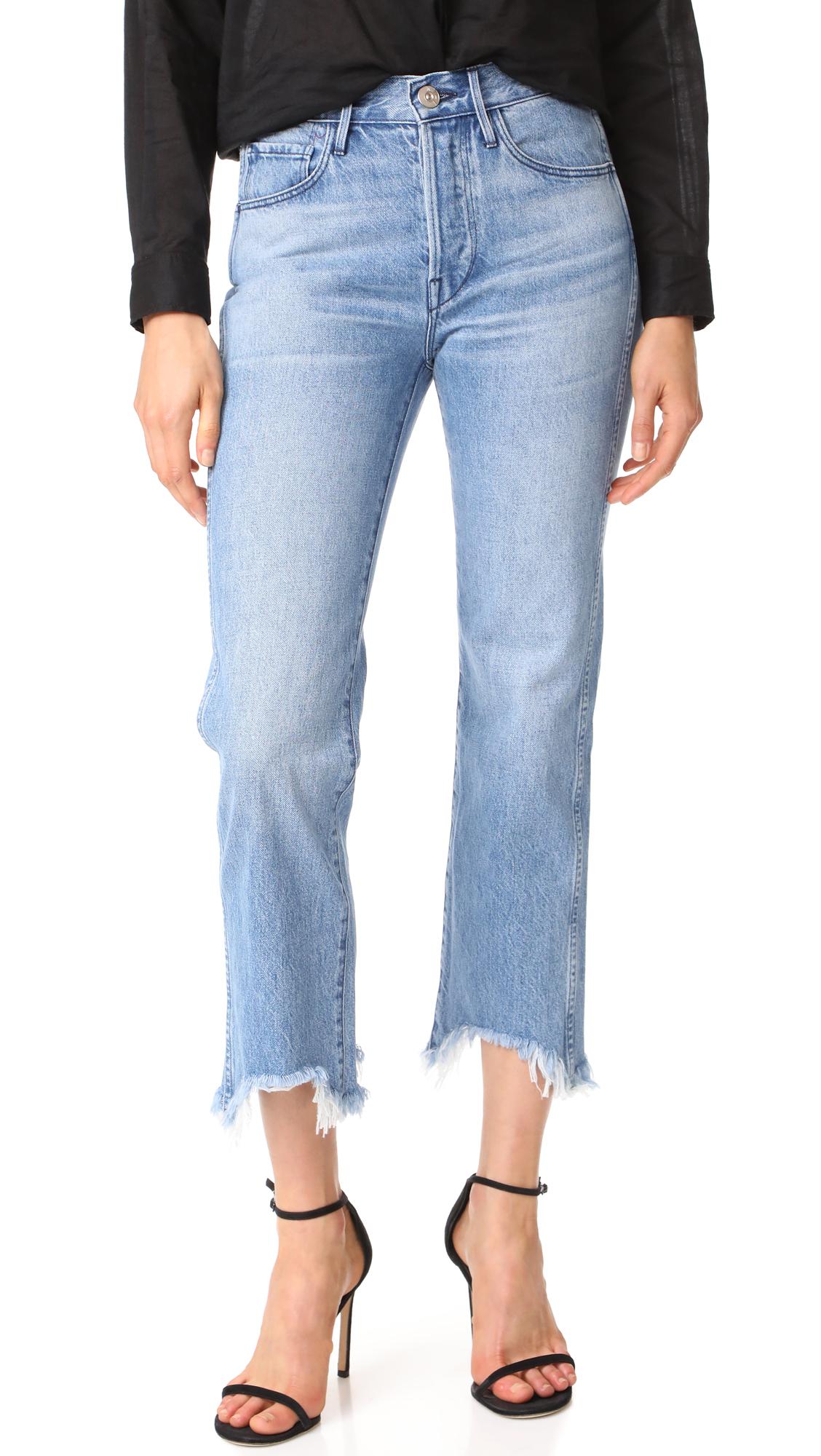 3x1 Shelter Austin Crop Jeans In Byrd