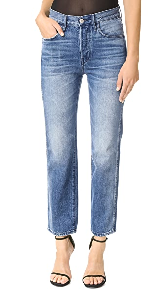 3x1 Shelter Austin Crop Jeans In Malone