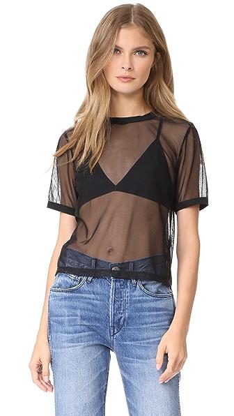 3x1 Mesh T-Shirt - Black
