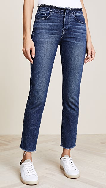 3x1 W4 Raw Edge Shelter Slim Jeans