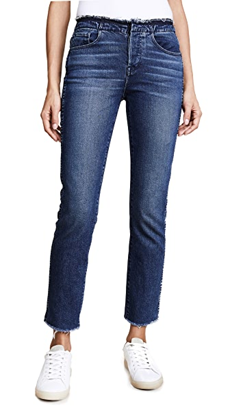 3x1 W4 Raw Edge Shelter Slim Jeans In Tin Coo