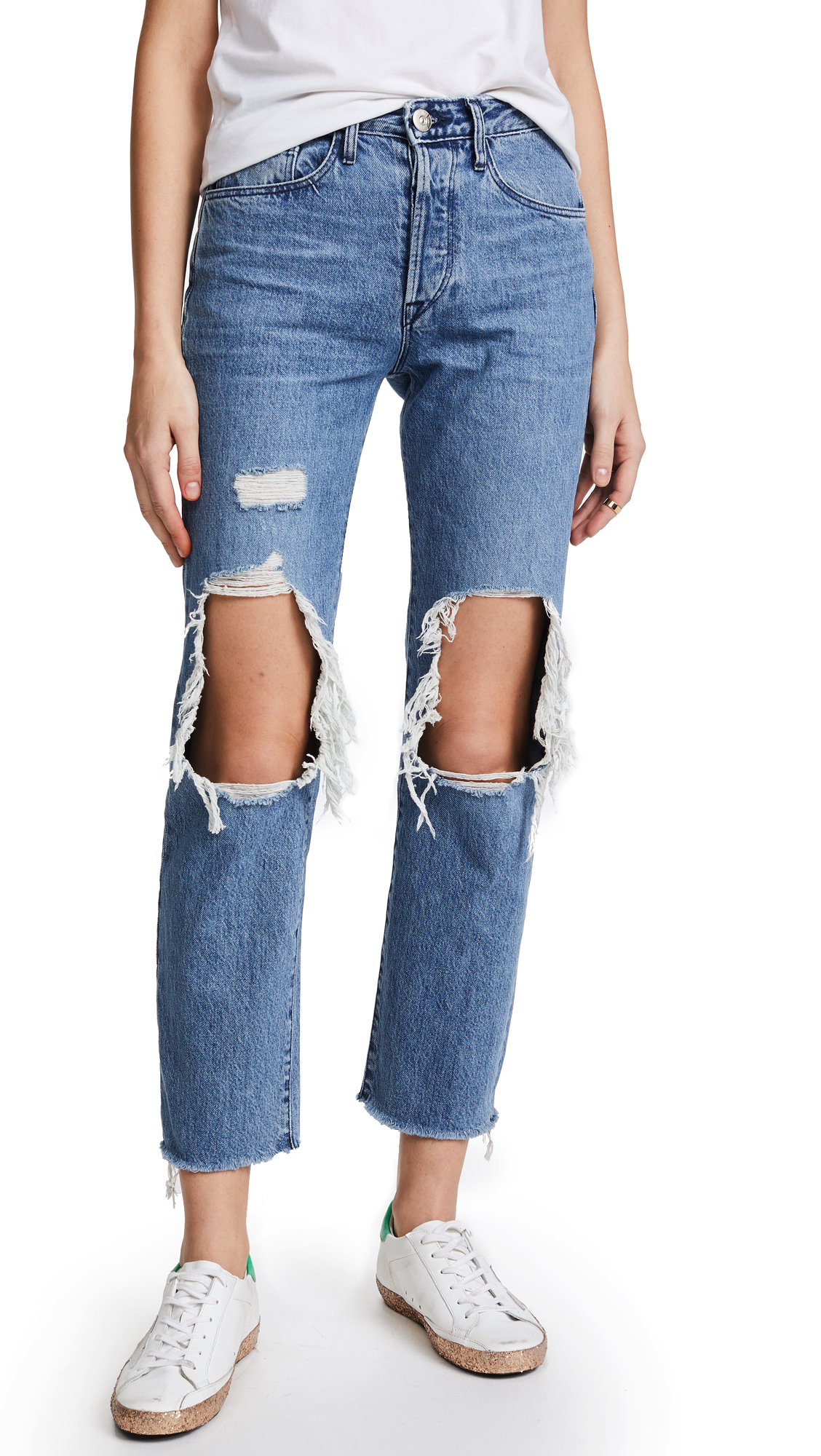 3x1 W3 Higher Ground BF Crop Jeans In Clutch