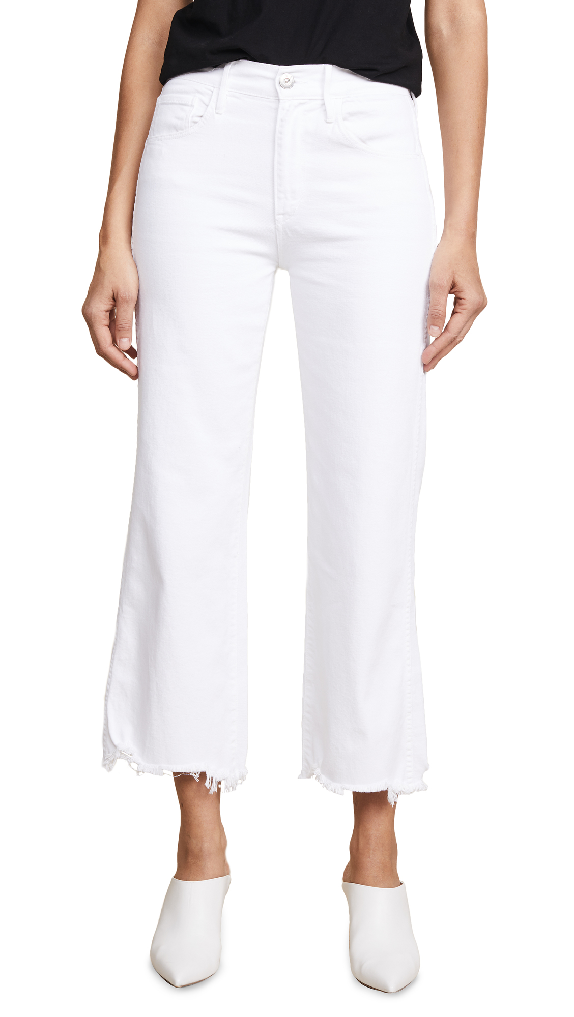 3x1 Shelter Wide Leg Jeans In Neve Wash