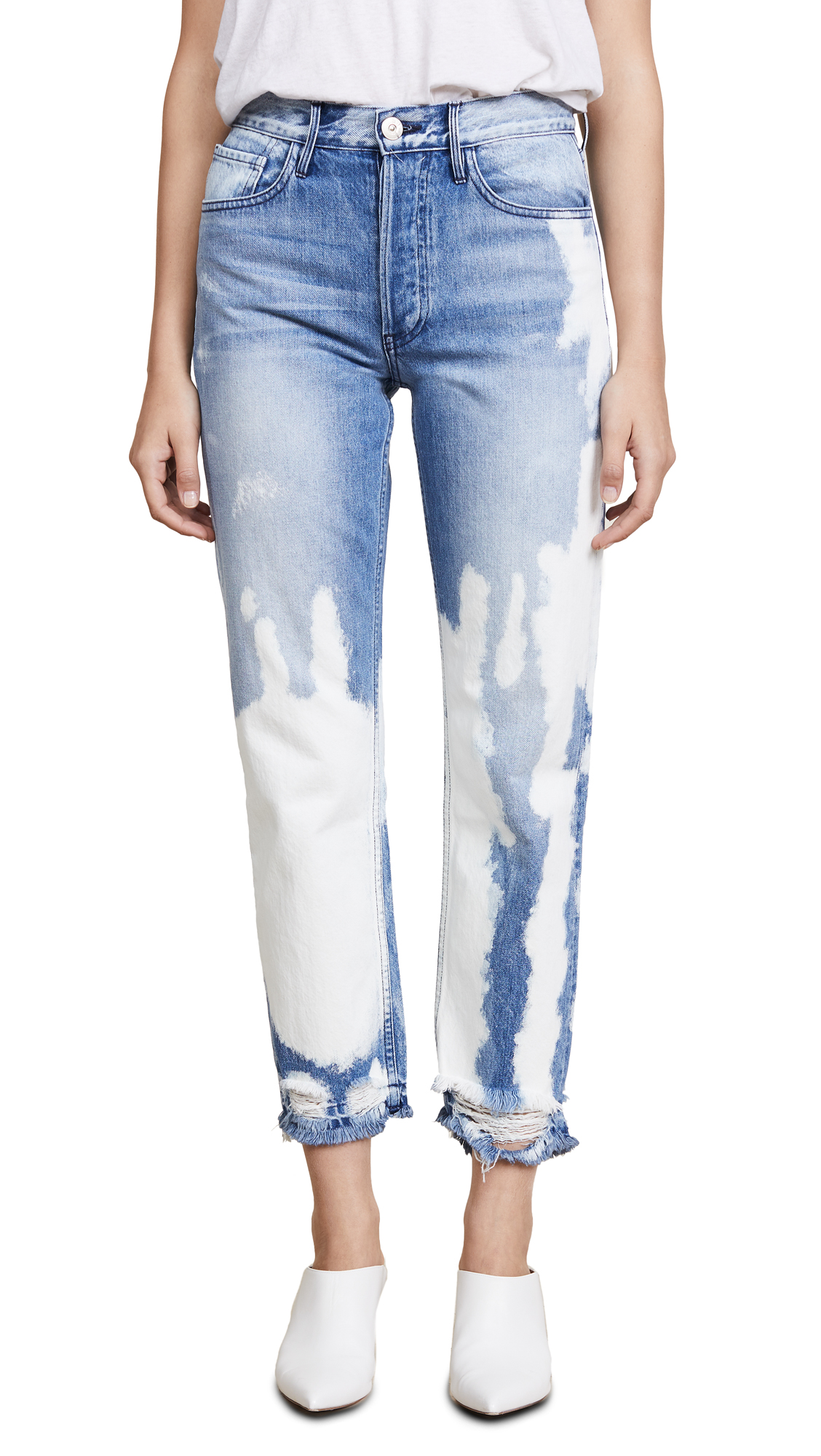 W3 Higher Ground Straight Jeans, Marble