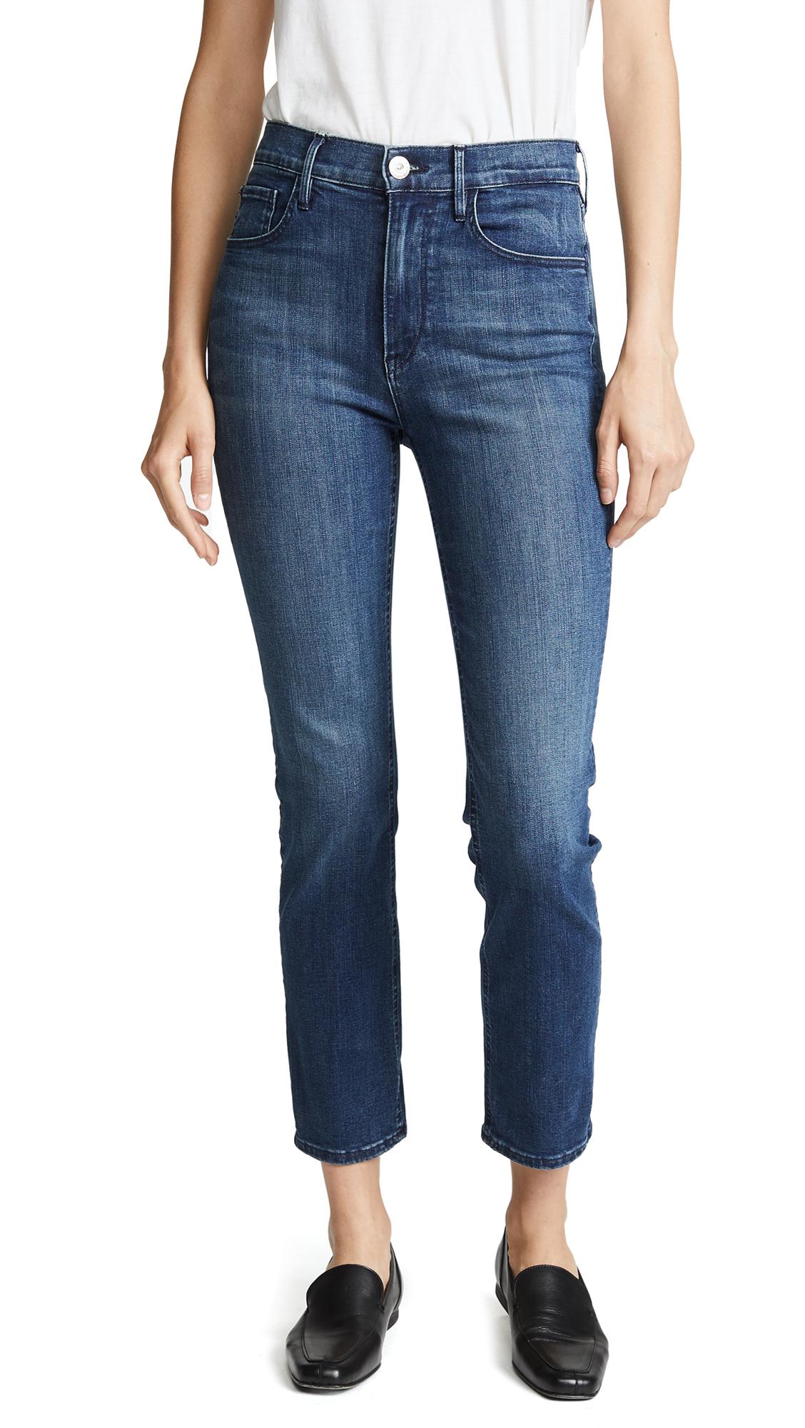 3x1 W4 Colette Slim Crop Jeans - Odette