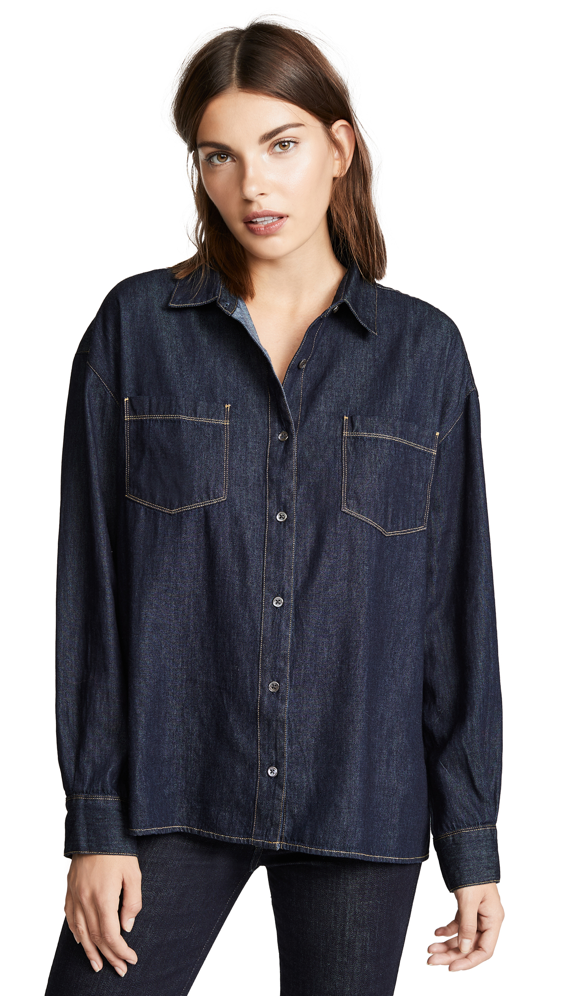 3x1 Joni Button Up Shirt - Corvin