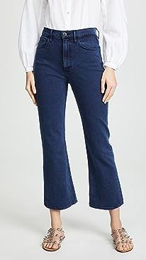 fd805cc4e694b Designer Cropped Flare Jeans