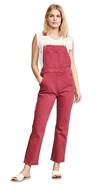3×1 Rose Overalls