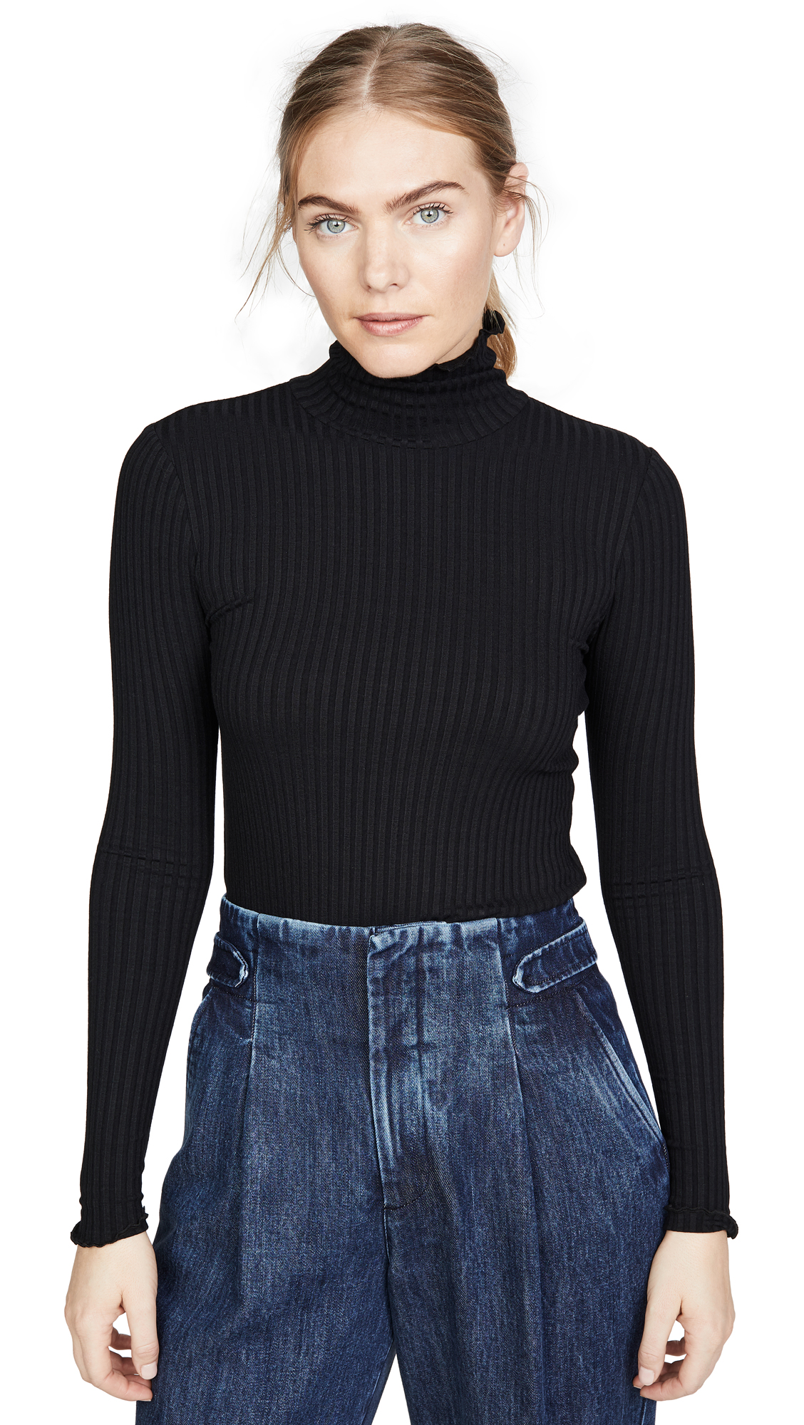 Buy 3x1 online - photo of 3x1 Ribbed Turtleneck