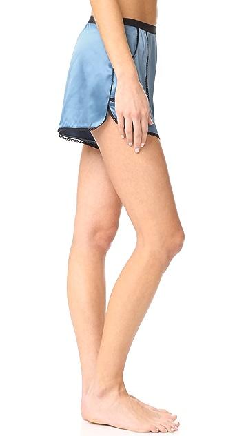 Thistle & Spire Devoe Satin Shorts