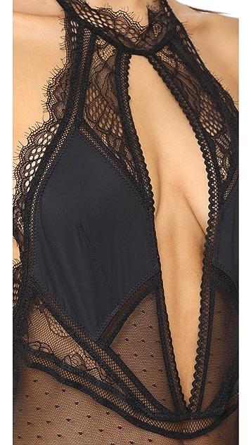 Thistle & Spire Amore Plunge Bodysuit