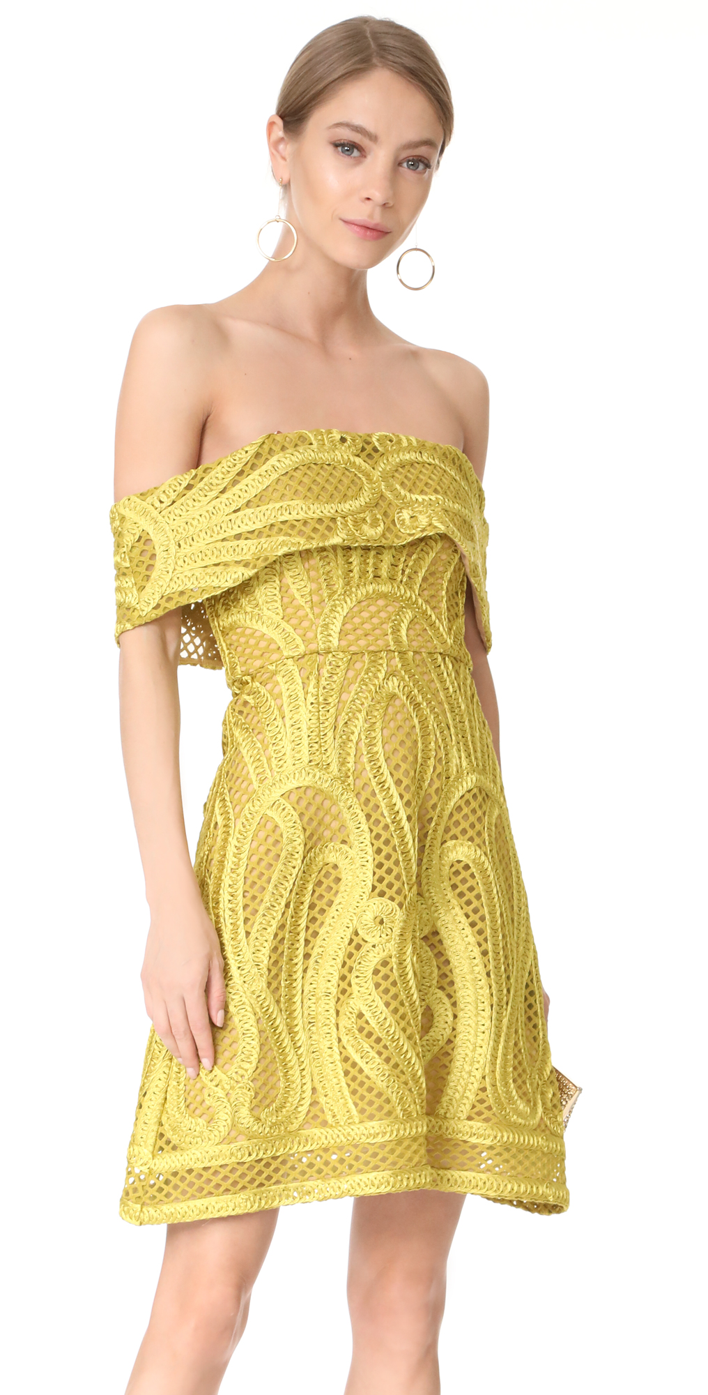 Thurley yellow dress