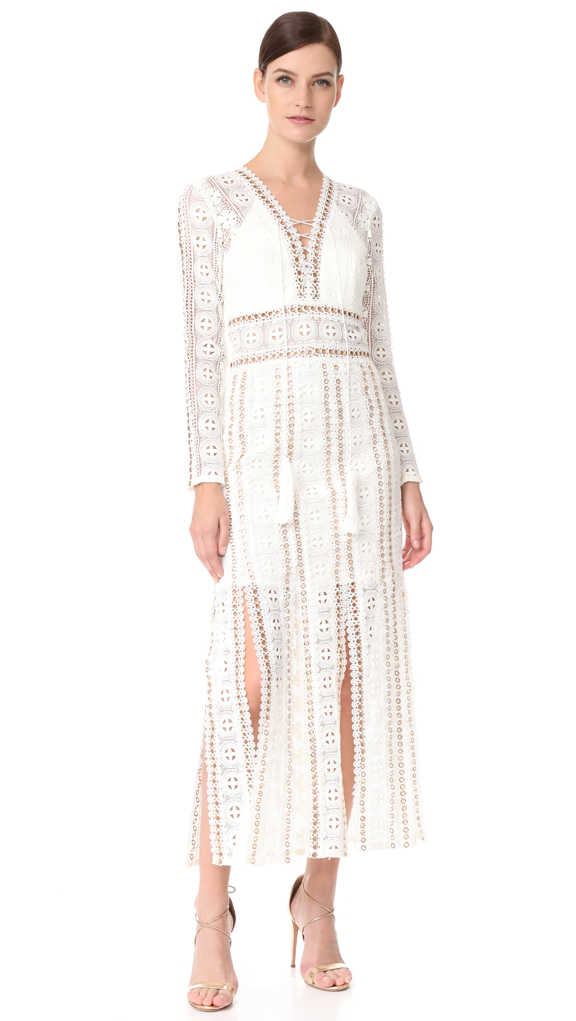 THURLEY Folklore Maxi Dress