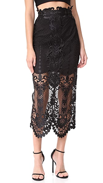 THURLEY Pearly Gates Skirt