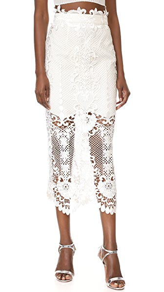 THURLEY Pearly Gates Skirt - Ivory