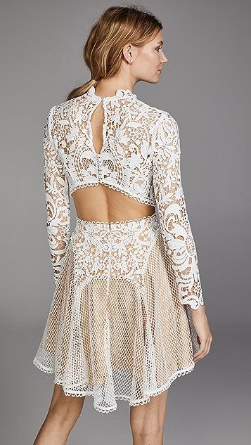 THURLEY Enchanted Garden Mini Dress