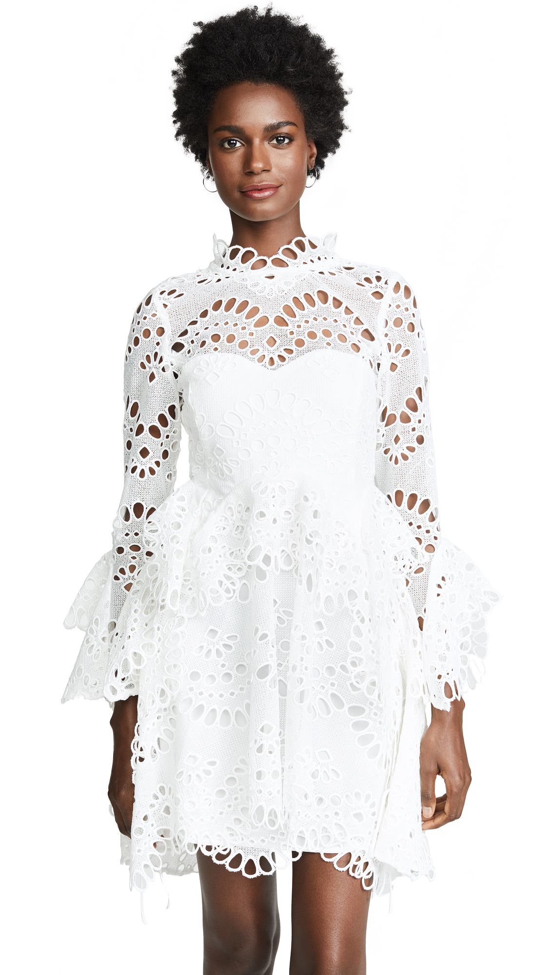 THURLEY LEO EMBROIDERED DRESS