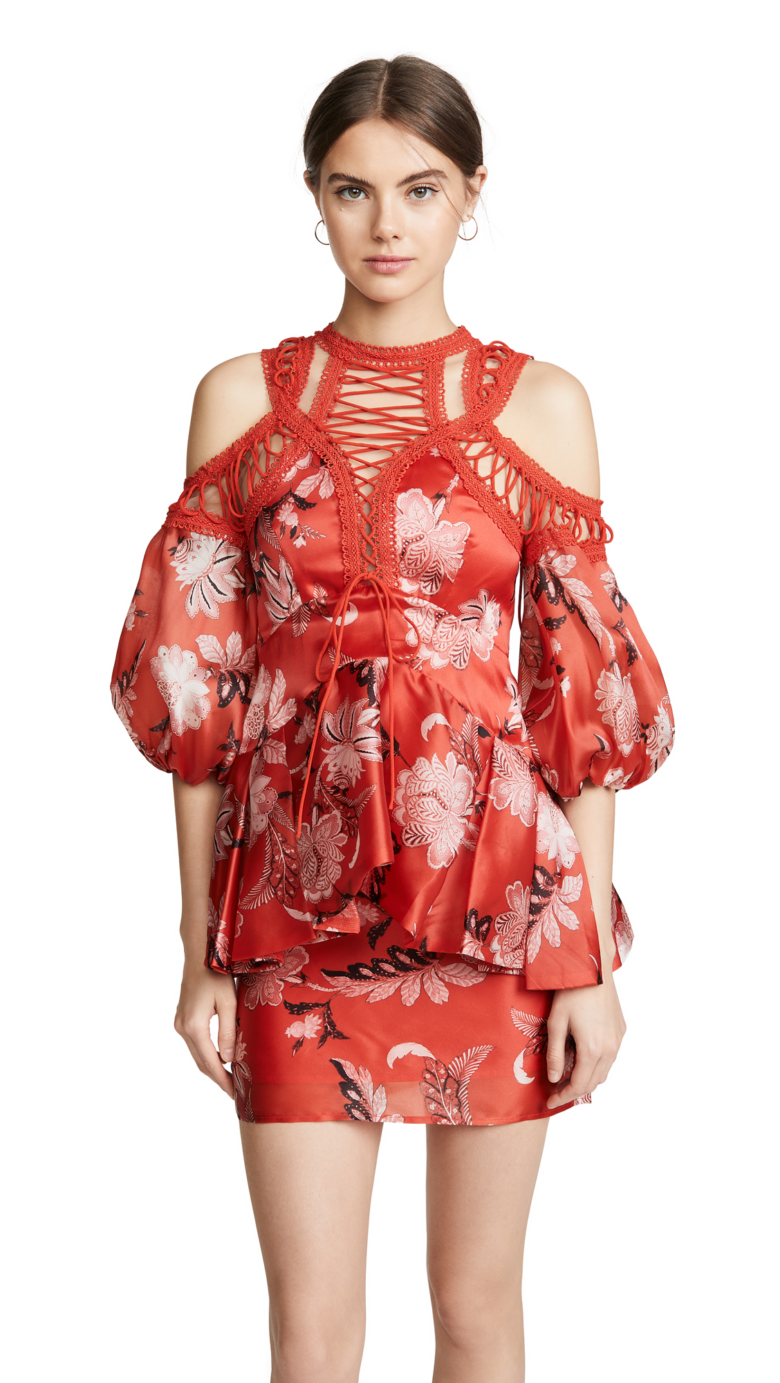 Buy THURLEY online - photo of THURLEY Folklore Print Dress