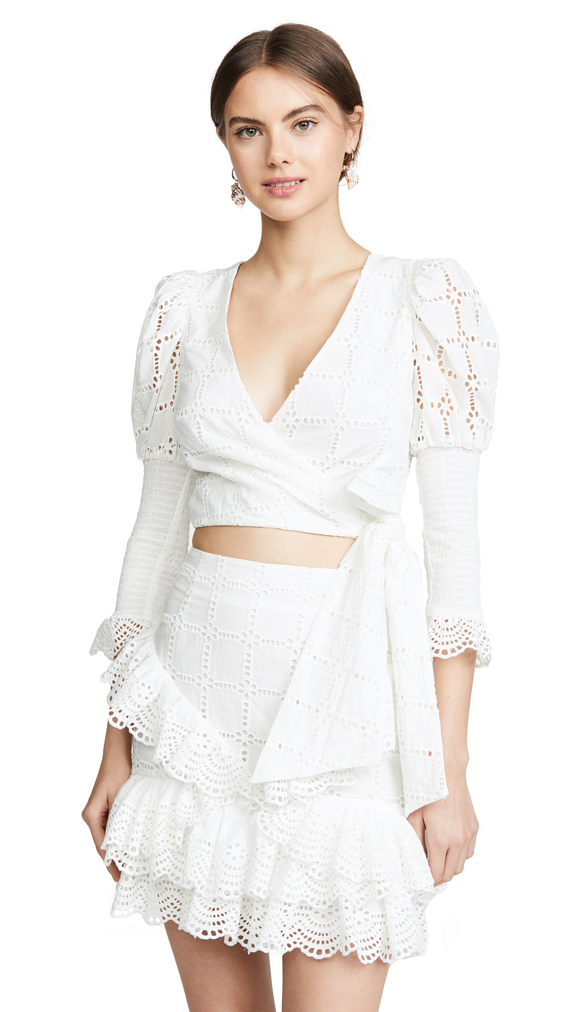 Buy THURLEY online - photo of THURLEY Raven Wrap Top
