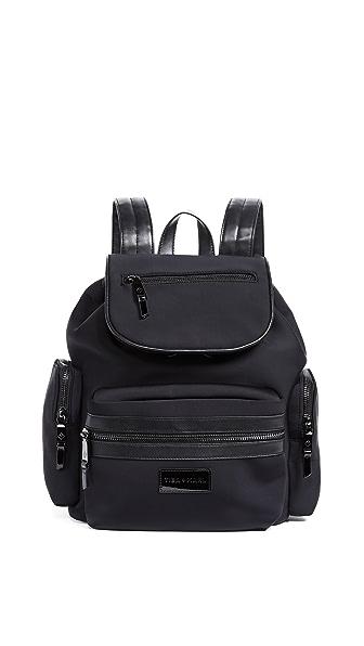 TIBA + MARL Kaspar Baby Backpack In Black Scuba