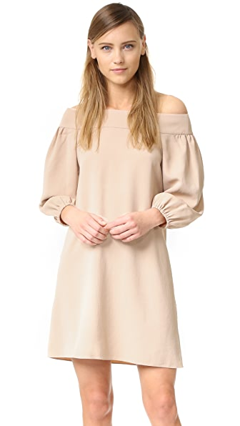 Tibi Off Shoulder Dress