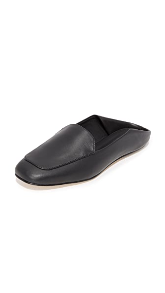 Tibi Cecil Mules In Black