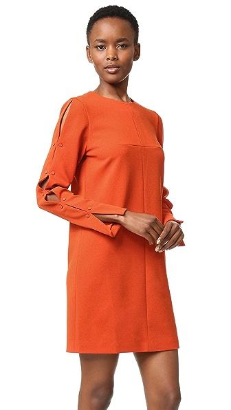 Tibi Button Sleeve Dress
