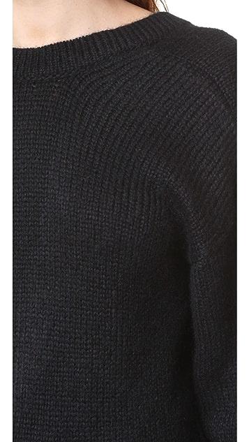 Tibi V Back Sweater
