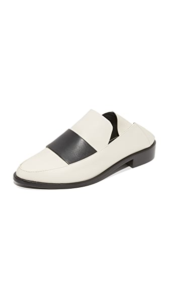 Tibi Darla Mule Loafers