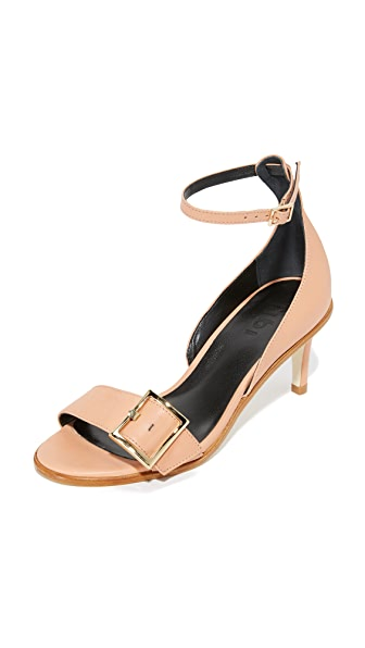 Tibi Ilana Sandals - Tea Rose