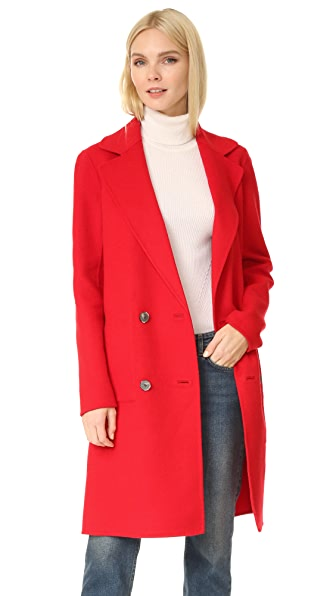 Tibi Reversible Double Face Coat