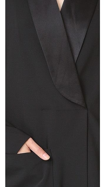 Tibi Tuxedo Dress