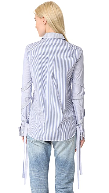 Tibi Shirt with Removable Straps