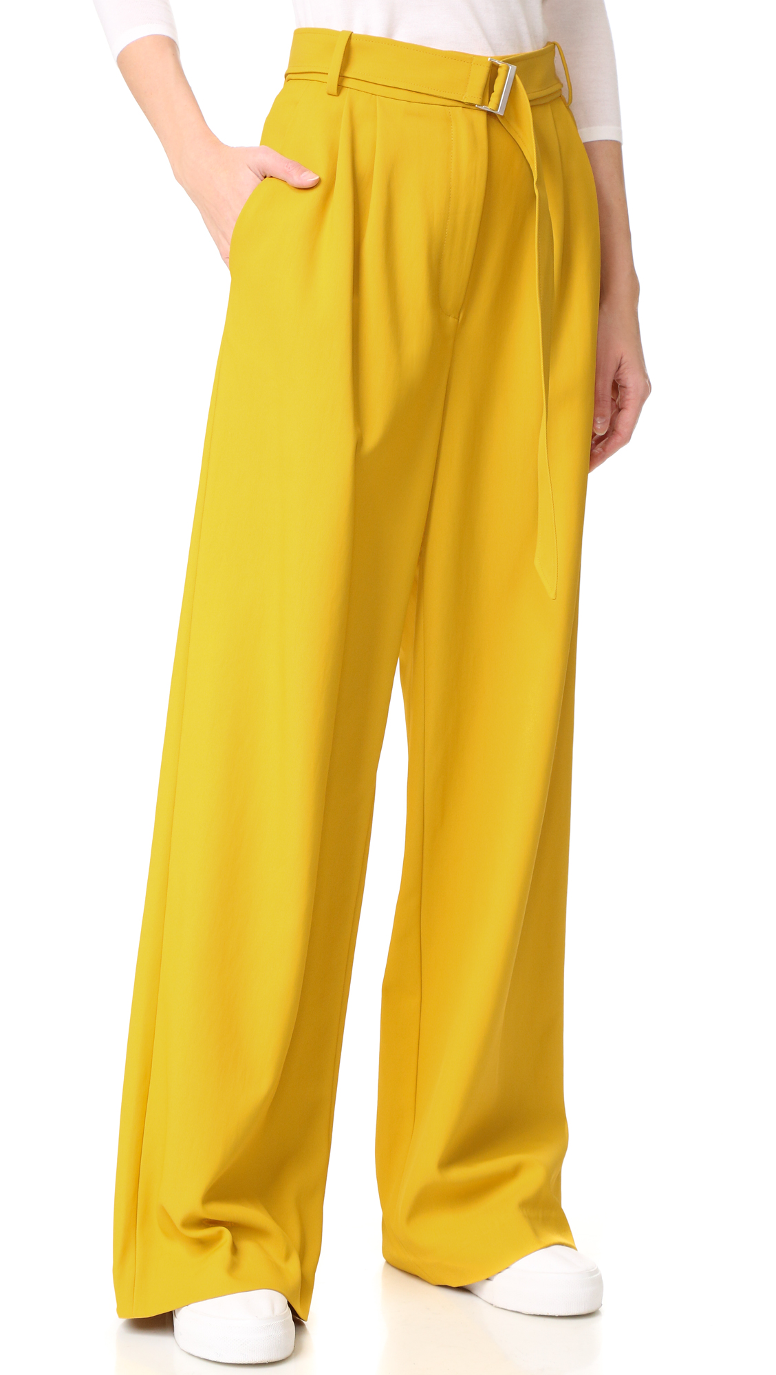 Tibi Wide Leg Pants | SHOPBOP
