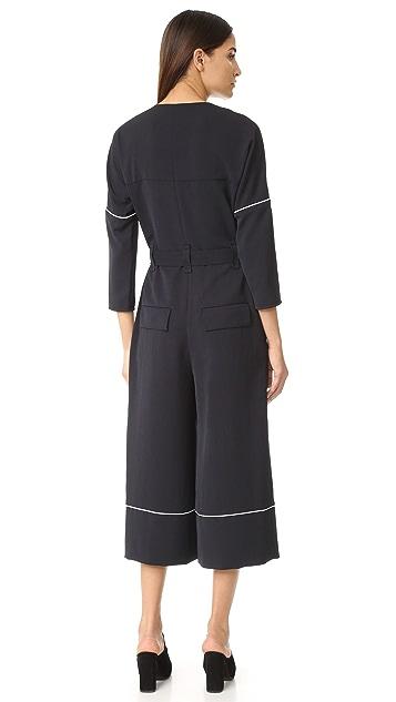 Tibi Jumpsuit with Belt