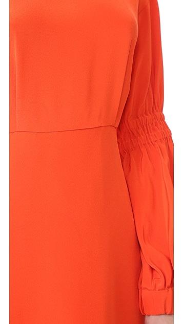 Tibi Balloon Sleeve Short Dress