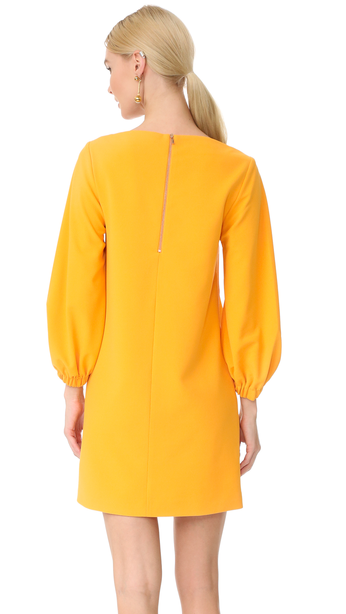 4053cdc80925 Tibi Crepe Boat Neck Dress | SHOPBOP