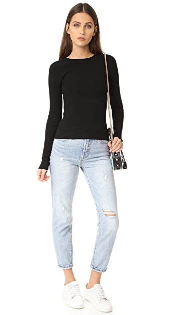 Tibi Scooped Back Pullover