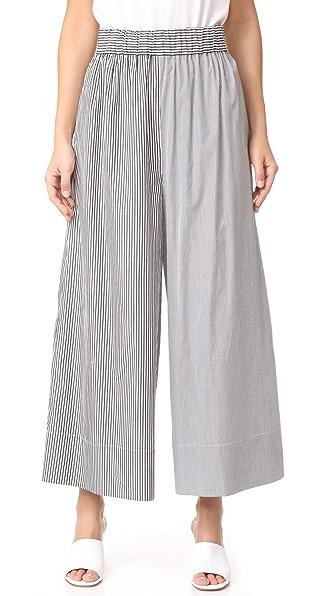 Tibi Простые брюки без застежки