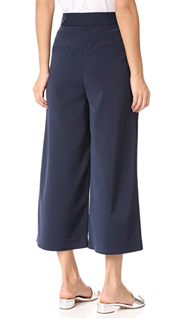 Tibi Wide Leg Pants